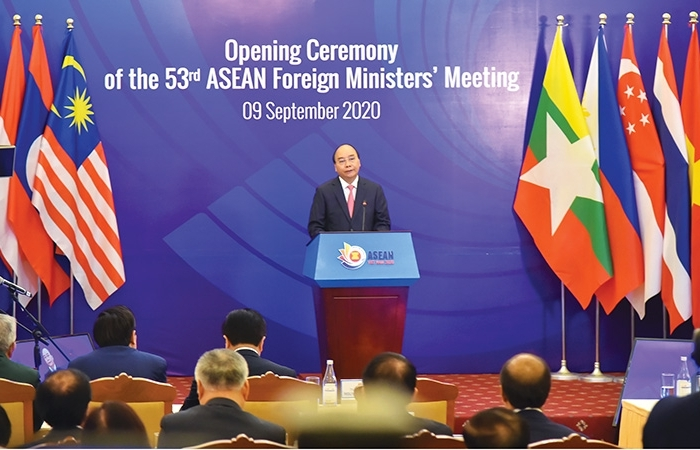 asean illustrates united mindset