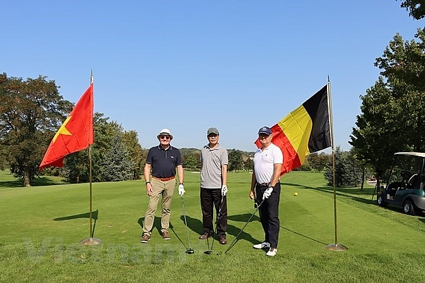 belgian golf tournament raises funds for vietnamese aodioxin victims