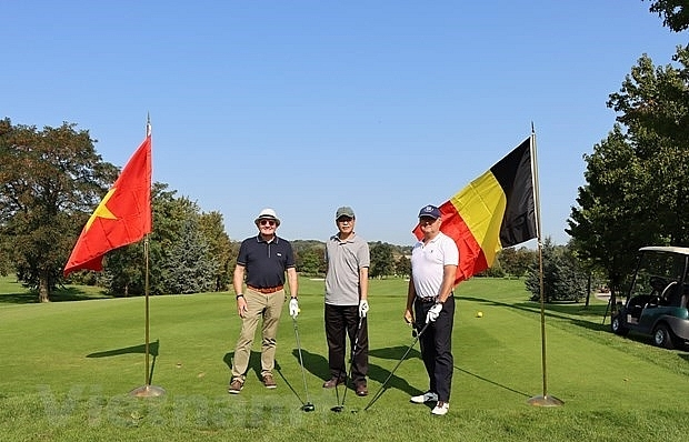 belgian golf tournament raises funds for vietnamese aodioxin victims