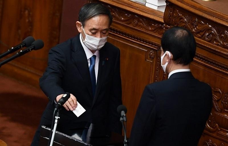 yoshihide suga named japans new prime minister