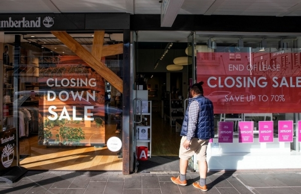 new zealand plunges into recession as economy shrinks record 12