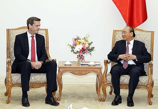 prime minister welcomes new adb country director