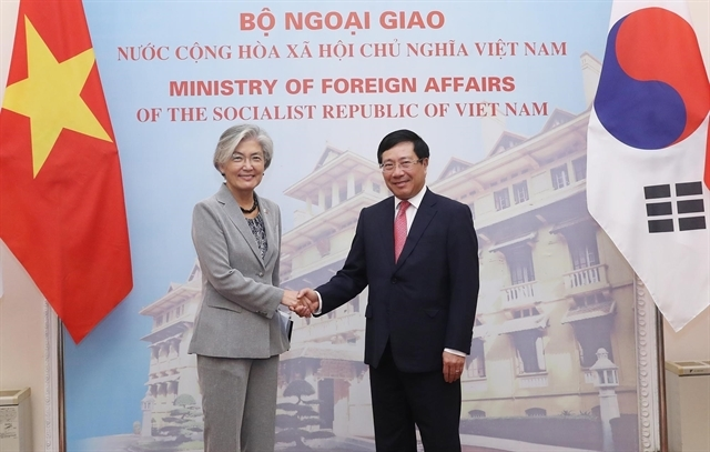roks foreign minister proposes more commercial flights be resumed with vietnam