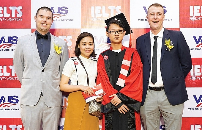12 year old on reaching 80 ielts thanks to my parents for accompanying my journey
