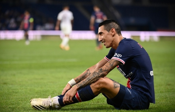 psgs di maria gets four match spitting ban