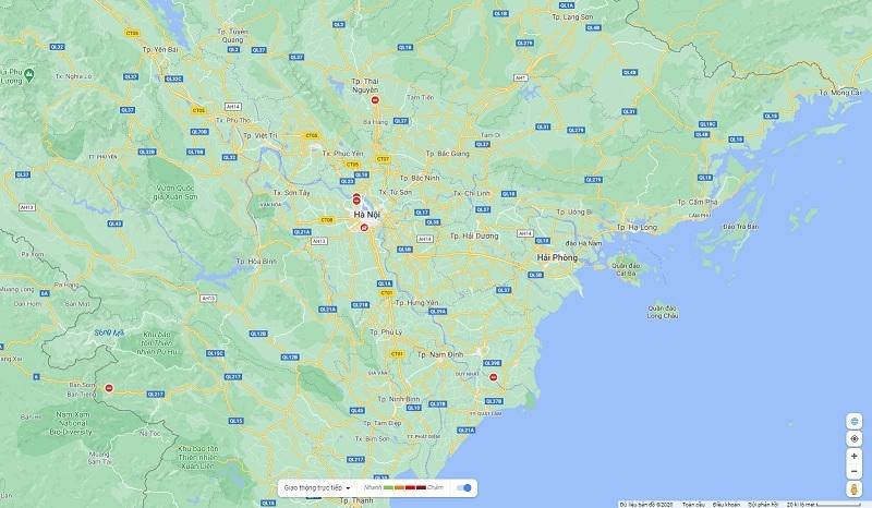 google maps shows covid 19 hot spots