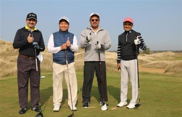 golf tourney marks 70th anniversary of vietnam russia ties