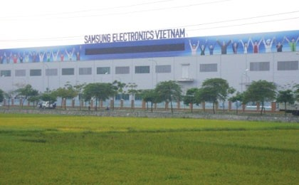 bac ninh areas industrial production soars in 2010
