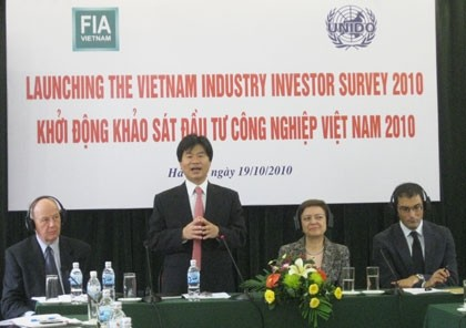 vietnam industry investor survey 2010 launched
