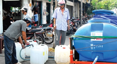 wastewater plans slow to trickle