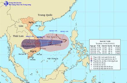 storm gaemi to hit central provinces