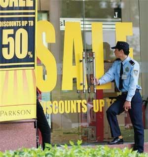 retail segment faces challenges