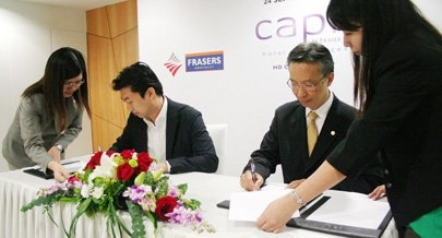 frasers wins deal to manage hotel in vietnam