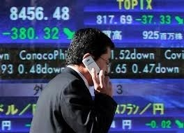 asian markets fall ahead of us growth data