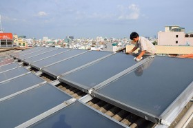 green growth sprouts from green investment