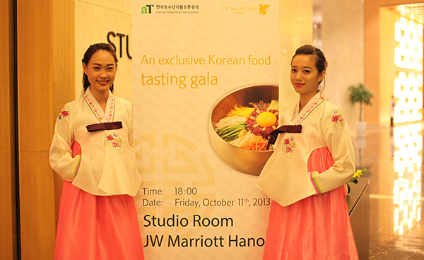 Jw marriott hanoi joins hands to promote korean cuisine new the korean cuisine night presents authentic food to vietnamese guests at jw marriott hanoi hotel for an unparalleled dining experience mightylinksfo