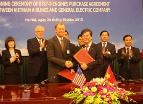 vietnam airlines signs a big contract with ge
