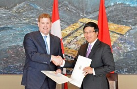 vn canada agree to enhance cooperation