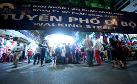 Hanoi to have 6 more pedestrian streets on weekends