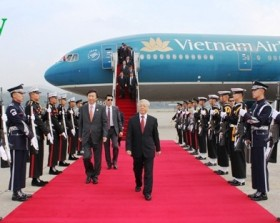 party chief starts rok tour