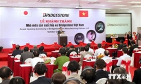 Japanese firm inaugurates tyre plant in Hai Phong