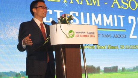 asocio ict summit opens in hanoi