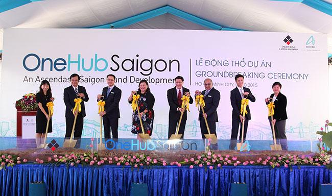 construction of onehub saigon kicks off