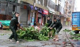Torrential rains hit northern Vietnam in wake of Typhoon Mujigae