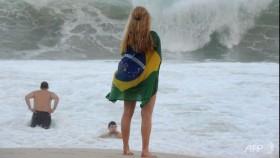 Life no beach for Brazilian football fans