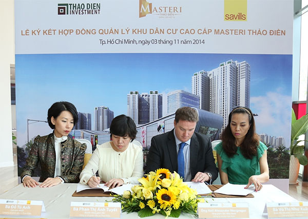 savills vietnam to officially manage masteri thao dien