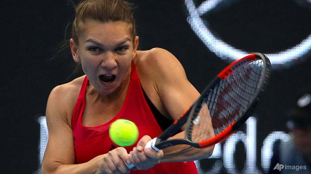 halep dumps despairing sharapova out of beijing