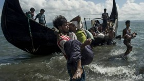 12 dead, scores missing as boat packed with Rohingya sinks