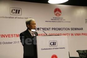 Vinh Phuc province invites investors in India