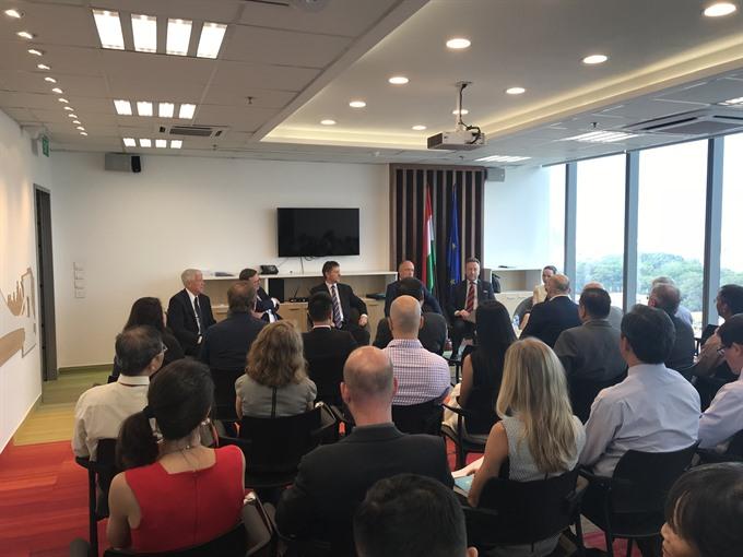 visa application centre for four central european countries opens