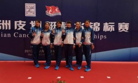 Vietnam wins one silver, two bronzes at Asian canoe champs