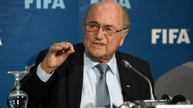 Blatter says he is going to World Cup at Putin's invitation
