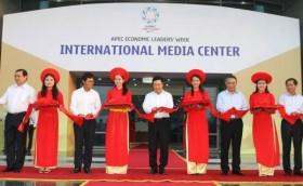 apec international media center launched