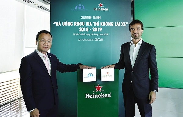 heineken steps up to combat drink driving