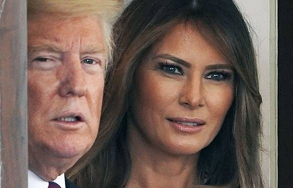 we are fine melania trump dismisses gossip about marriage