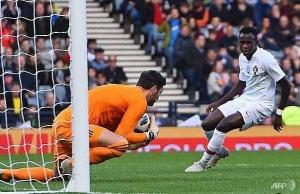 costa bags debut goal as portugal sink scotland