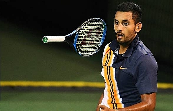 kyrgios surprised by russian love