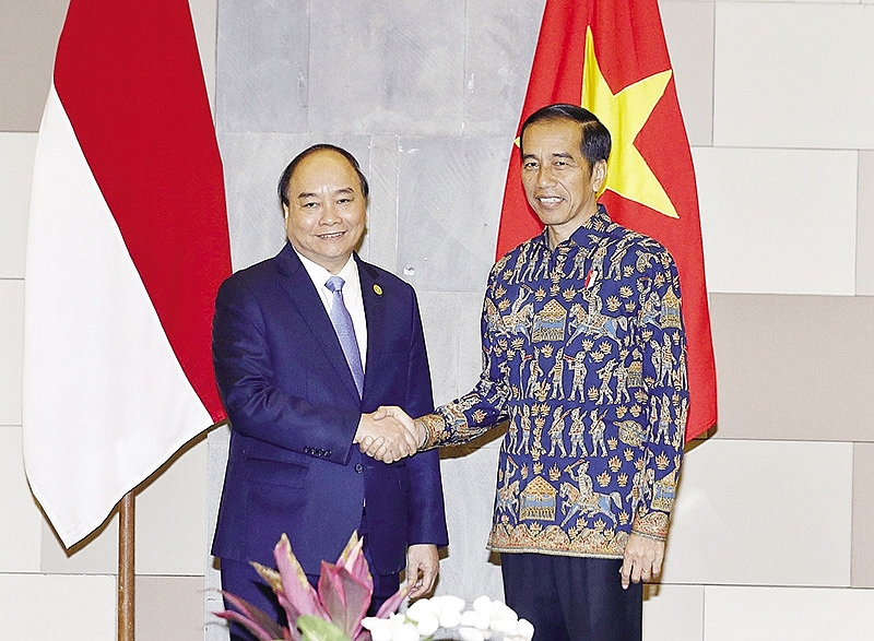 pms visit cements ties with indonesia