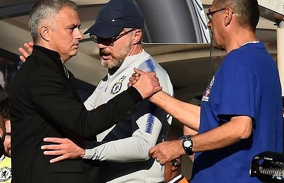 chelsea coach ianni charged over mourinho fracas