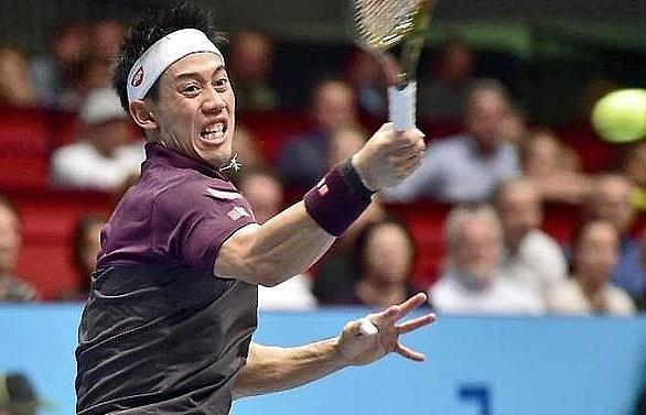 nishikori into vienna semis closes in on atp finals spot