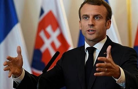 macron merkel back europe coordination on arms sales to saudi arabia