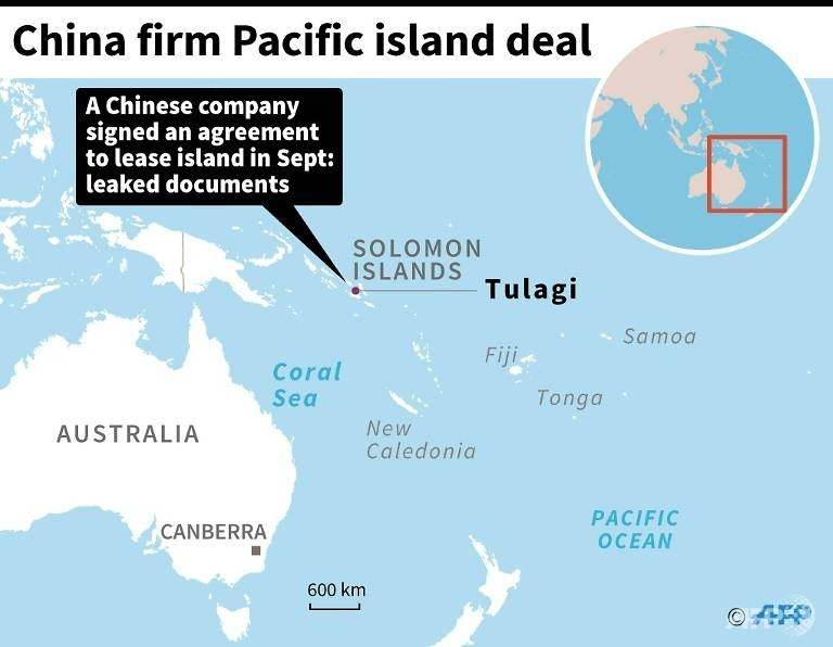 china signs deal to lease pacific island in solomons