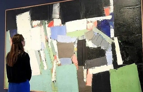 nicolas de stael painting sold for record 20 million