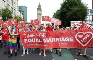 gay marriage abortion laws liberalised in northern ireland