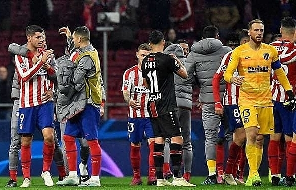 moratas goal hands atletico 1 0 win over leverkusen