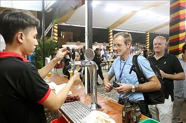 belgian beer festival underway in hai phong